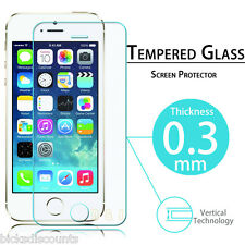 Genuine Apple iPhone 5 Tempered Glass Screen Protector Lcd Film Guard