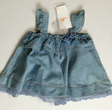 Designer MAYORAL Girls Summer Top Blue 2y 3y 4y 5y BNWT RRP £31 GENUINE SALE!!