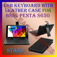 "ACM-USB KEYBOARD 7"" CASE for BSNL PENTA S650 TABLET LEATHER COVER STAND HOLDER"