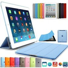 Custodia Smart Cover Magnetica Stand pieghevole Back Hard Fronte per Apple iPad