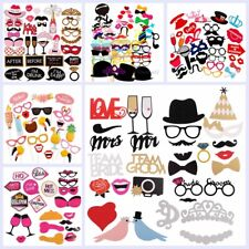 Photo Booth Props Mask Mustache Hen Wedding Funny  Party Birthday Decor DIY