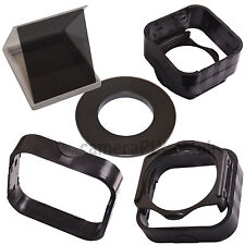 For Cokin P Square Filters Ring Hood Holder Adapter Ring 49 58 62 67 72 77 mm UK