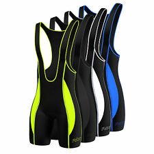 FDX Mens Quality Cycling Bib Shorts  Coolmax® Padding  Cycle Tight Shorts