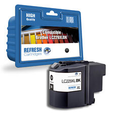 REFRESH CARTRIDGES BLACK LC229XLBK INK COMPATIBLE WITH BROTHER PRINTERS