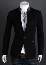 Mens slim fit blazer suit coat jacket