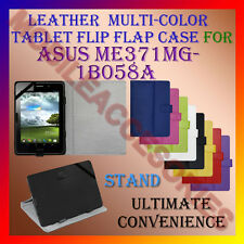 """ACM-LEATHER FLIP MULTI-COLOR 7"""" COVER CASE STAND for ASUS ME371MG-1B058A TABLET"""