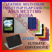 "ACM-LEATHER FLIP MULTI-COLOR 7"" COVER CASE STAND for ASUS ME371MG-1B058A TABLET"