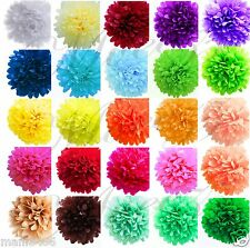 "TISSUE PAPER POM POM 12"" WEDDING PARTY ENGAGEMENT NURSERY CENTERPIECE DECORATION"