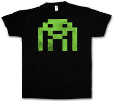 Alien Invader TBBT TV - Camiseta -Space The Big Bang Nerd años 80 Theory S - 3XL