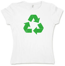 Camiseta de chica con logo de reciclaje - The Big Bang TBBT TV Theory / XS - XXL
