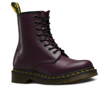 Dr martens purple leather classic 1460 8 eyelet boots 11821500 rrp £130