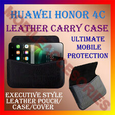 ACM-HORIZONTAL LEATHER CARRY CASE for HUAWEI HONOR 4C MOBILE COVER POUCH HOLDER