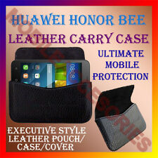 ACM-HORIZONTAL LEATHER CARRY CASE for HUAWEI HONOR BEE MOBILE COVER POUCH HOLDER