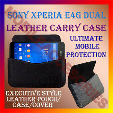 ACM-HORIZONTAL LEATHER CARRY CASE for SONY XPERIA E4G DUAL MOBILE COVER POUCH