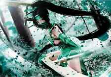 PRECO League of legends Akali costume cosplay