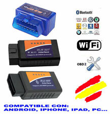 DIAGNOSIS ELM327 MULTIMARCA BLUETOOTH / WIFI 2015 v.2.1 !!