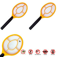 NEW ELECTRIC INSECT ZAPPER Handheld Bat Mosquito Fly Pest Bug Killer Racket Swat