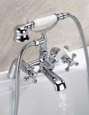 Traditional Bathroom Sink Basin Mixer, Bath Filler, Shower Tap Chrome Hamilton