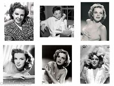 JUDY GARLAND reprint,iron on transfer or sticker, 6 choices of picture