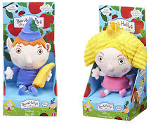 Talking Ben Elf and Holly Princess Plush Soft Toy Ben and Hollys Little Kingdom