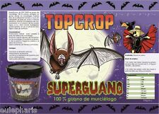 SUPERGUANO TOP CROP 1Kg Abono Fertilizante Biologico 100% Guano Murcielago