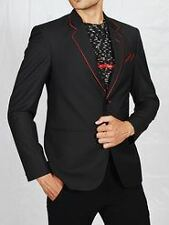 Mens slim fit blazer suit coat jacket + Slim tie free !!!!