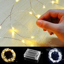 Christmas Fairy String Lights 40/50/100LED Battery Operated New White/Warm White