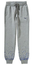 NEU PUMA GIRLS Graphic Sweat Pants closed Jogginghose gefüttert grau GR S 128
