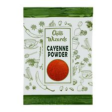 Chilli Powder - Top Quality Authentic Cayenne Chilli Pepper Powder 20g to 25kg