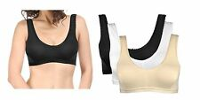Buy Pack of 6, Save More Non-Padded Cotton Bra-Sports Bra-Tshirt Bra