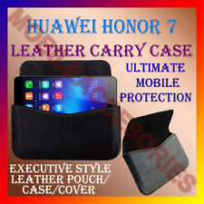 ACM-HORIZONTAL LEATHER CARRY CASE for HUAWEI HONOR 7 MOBILE POUCH COVER HOLDER