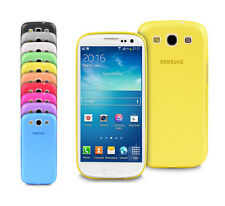 Ultra Thin Slim Matte Slim Soft Back Case Cover For Samsung Galaxy S3 I9300