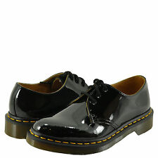 Women's Shoes Dr. Martens 1461 3 Eye Leather Oxfords 10084001 Black Patent *New*