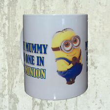 Cute Mummy One In A Minion Funny Despicable Me Mug Tea Coffee Cup Novelty Gift