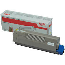 BRAND NEW GENUINE OKI 44315305 YELLOW LASER PRINTER TONER CARTRIDGE