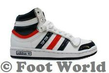 Kids Cheap Adidas Original Top Ten Hi  - G45811 - White/Navy/Red  Trainers