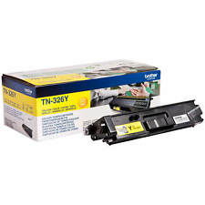 GENUINE BROTHER TN-326Y / TN326Y YELLOW HIGH CAPACITY LASER TONER CARTRIDGE