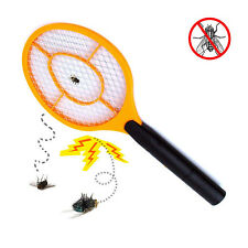 NEW ELECTRIC INSECT ZAPPER MOSQUITO SWAT BUG CONTROL BATTERY OPERATED RACKET
