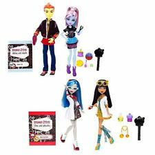 Monster High Classroom 2 Doll - Heath Burns&Abbey / + Ghoulia Yelps&Cleo De Nile