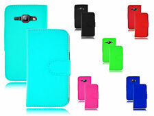 PU Magnetic Wallet Book Flip Leather PU Case Cover For Samsung Galaxy J1 SM-J100