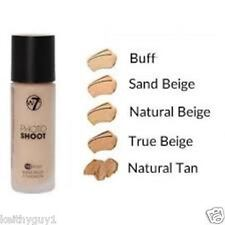 W7 Photo Shoot cosmetic 16 Hour Budge Proof Foundation face make up 4 shades