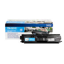 GENUINE BROTHER TN-321C / TN321C CYAN LASER TONER PRINTER CARTRIDGE