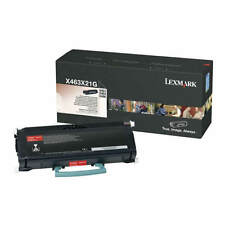 GENUINE LEXMARK 0X463X21G EXTRA HIGH CAPACITY LASER PRINTER TONER CARTRIDGE
