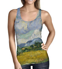 Vincent Van Gogh Fine Art Painting Ladies Tank Top - Sizes XS-5XL