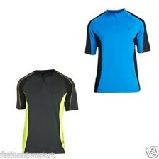 Mens Short Sleeve Cycle Cycling Bike Top Jersey Stretch Fabric Size SMALL