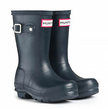 HUNTER ORIGINAL KIDS' WELLINGTON BOOTS – NAVY  - KFT5000RMA