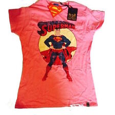 SUPERMAN - VINTAGE LOGO - OFFICIAL WOMENS T SHIRT
