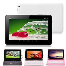 "iRULU 9"" 8GB Android 4.4 Tablet PC Quad Core Dual Cam Bluetooth WIFI w/ Keyboard"