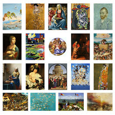 Best Art Masterpieces Pain Poster Print Picasso, Klimt, Dali, Monet Wall decor