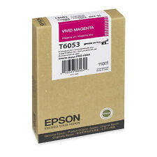GENUINE EPSON STYLUS PRO T605B MAGENTA INK CARTRIDGE (C13T605B00)